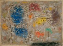 Willi Baumeister: Hommage à Jérôme Bosch (1953)