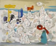 Willi Baumeister: Wachstum der Kristalle II (1947-52)