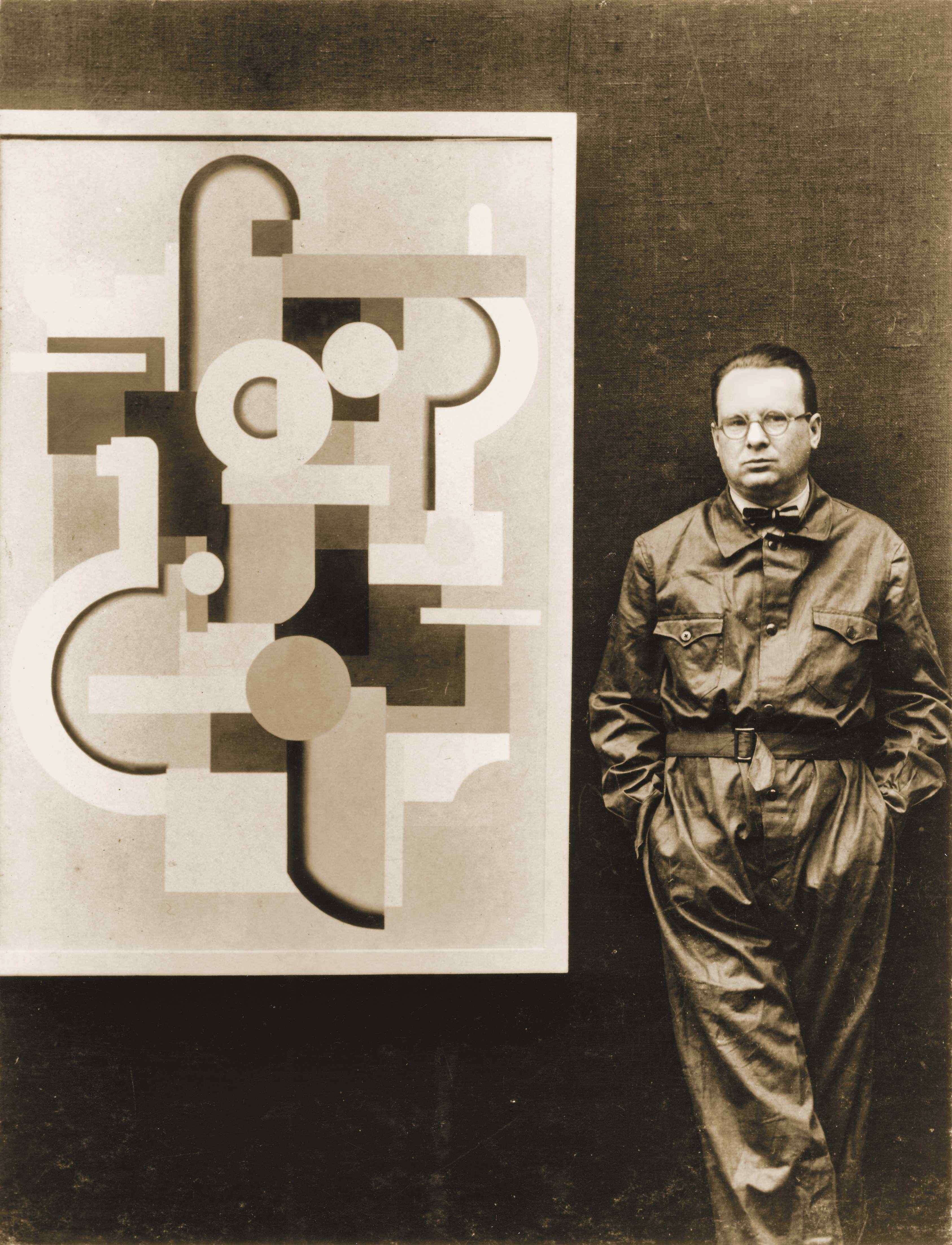 Willi Baumeister in Berlin, 1927