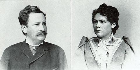 Wilhelm und Anna Baumeister. ab-f-037-001, ab-f-037-002