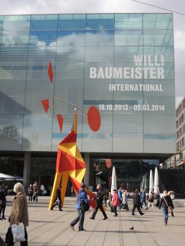 """Willi Baumeister International"" im Kunstmuseum Stuttgart, 2013/14"