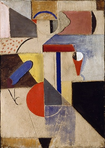 Willi Baumeister: Figur in absouluter Stellung (1919)