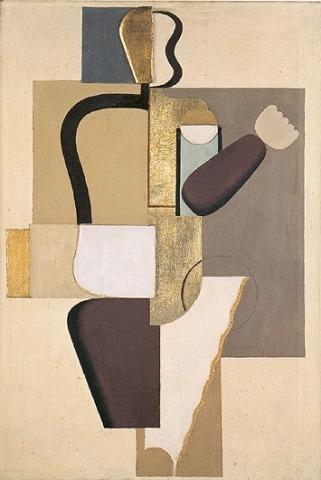 Willi Baumeister: Mauerbild mit Metallen (1923)