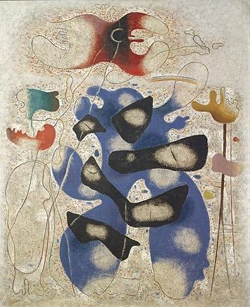 Willi Baumeister:  Eidos III (1939)