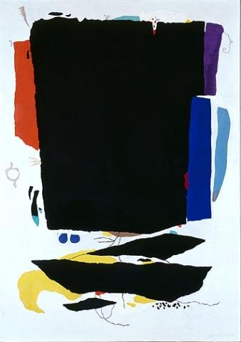 Willi Baumeister: Montaru mit Gondel (1954)