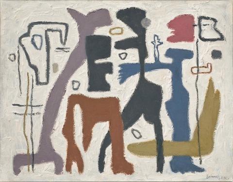 Willi Baumeister:  Afrika I (1942)