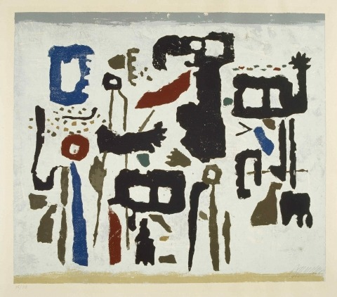 Willi Baumeister: Amenophis (1950)