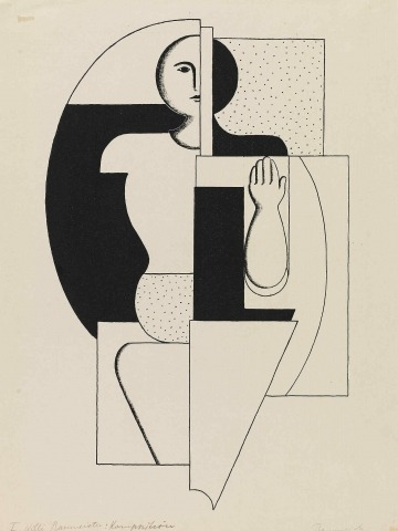 Willi Baumeister: Apoll (1922)