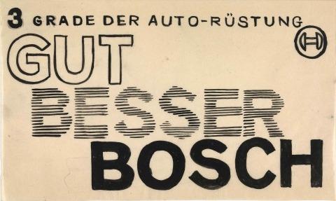 Inserate für die Firma Robert Bosch AG Stuttgart (1926)