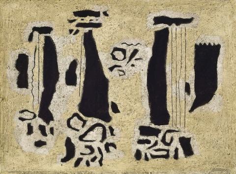Willi Baumeister:  Harfen (1945)