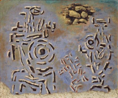 Willi Baumeister:  Hektors Abschied (1944)