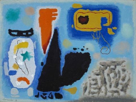 Willi Baumeister: Kessiu (1954)