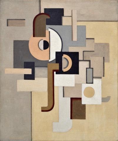 Willi Baumeister: Maschinenbild (1924)