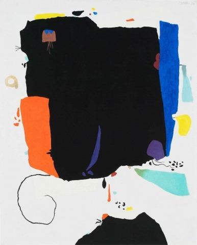 Willi Baumeister: Montaru 2D (1954)