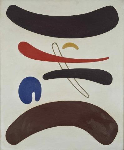 Willi Baumeister: Tori (1938)
