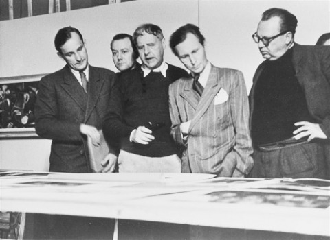Jury im Central Collecting Point München, 1950