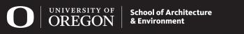 Logo University of Oregon, U.S.A.