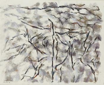 Fritz Seitz, Pastellzeichnung