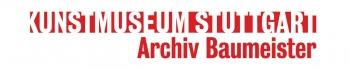 Logo Archiv Baumeister im Kunstmuseum Stuttgart