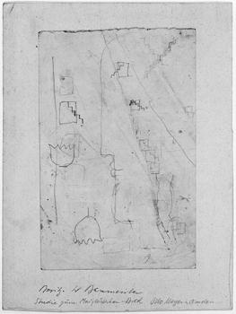 Otto Meyer-Amden, Studie zum Maiglöckchen-Bild, 1909