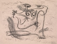 Willi Baumeister: Salome XII (1943)