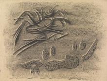 Willi Baumeister: Saul-Illustration XXXIX (1944)