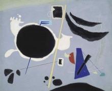 Willi Baumeister: Kosmische Geste (1950/51)