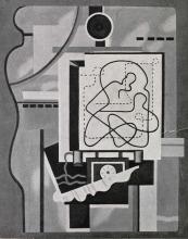 Willi Baumeister: Atelierbild (1929)