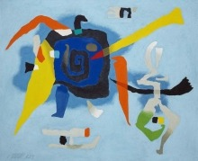 Willi Baumeister: Bluxao I (1955)