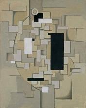 Willi Baumeister: Flächenfuge (Variante) (1923)