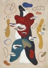 Willi Baumeister:  Flämmchenfigur (1931)