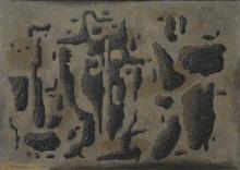 Willi Baumeister: Gilgamesch und Enkidu (1942)