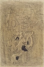 Willi Baumeister: Gilgamesch II / III (Variante) (1943)