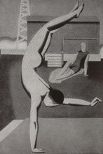 Willi Baumeister: Handstand (1925)