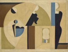 Willi Baumeister: Kreisbild I (1921)