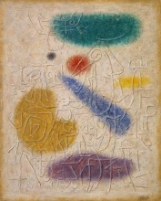 Willi Baumeister: Tempelwand (1941)