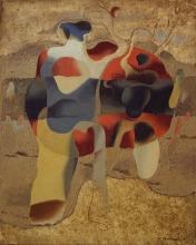 Willi Baumeister: Tennis rötlich (1935)